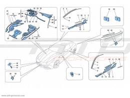 Ferrari FF PARATIE - FINITURE ESTERNE