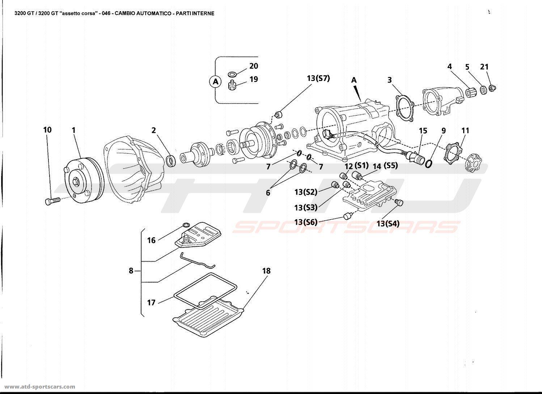 maserati 3200 gt gearbox