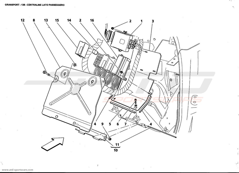 maserati 4200 gransport interior parts at atd