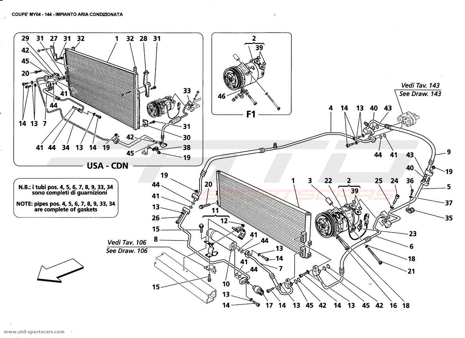 air conditioning system parts