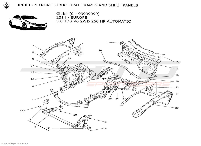 2014 maserati ghibli fuse panel  maserati  auto fuse box diagram