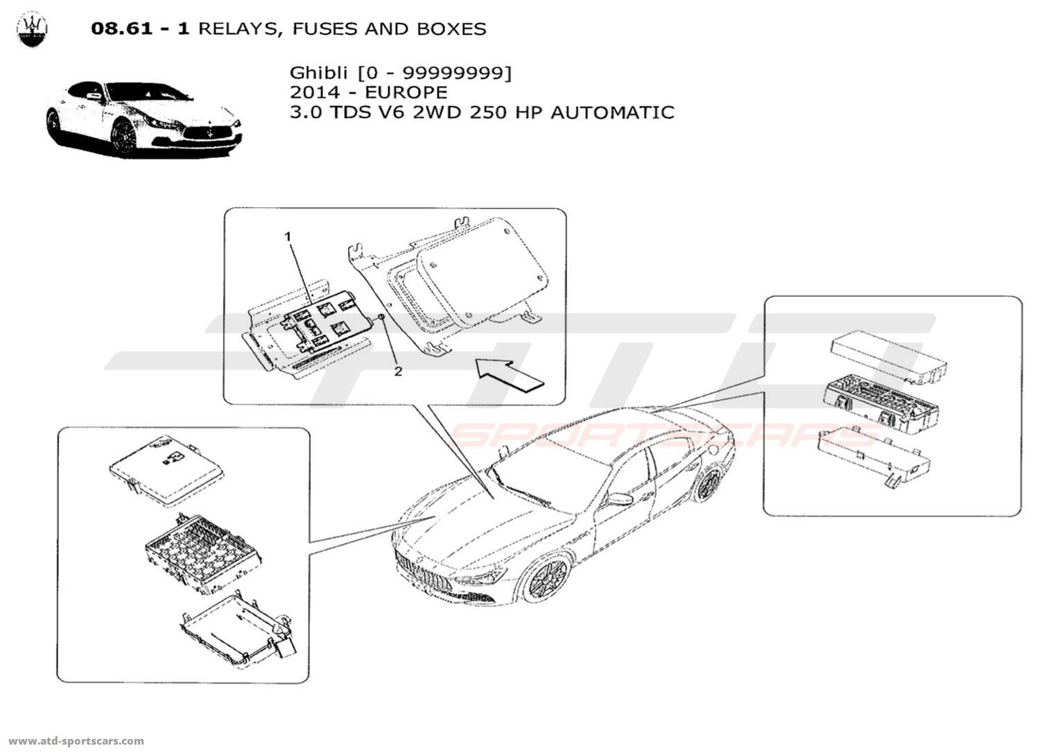 maserati fuse box diagram wiring diagram directory  2008 maserati granturismo how to open