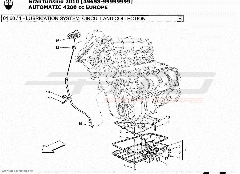 maserati granturismo 4 2l boite auto 2010 engine parts at atd