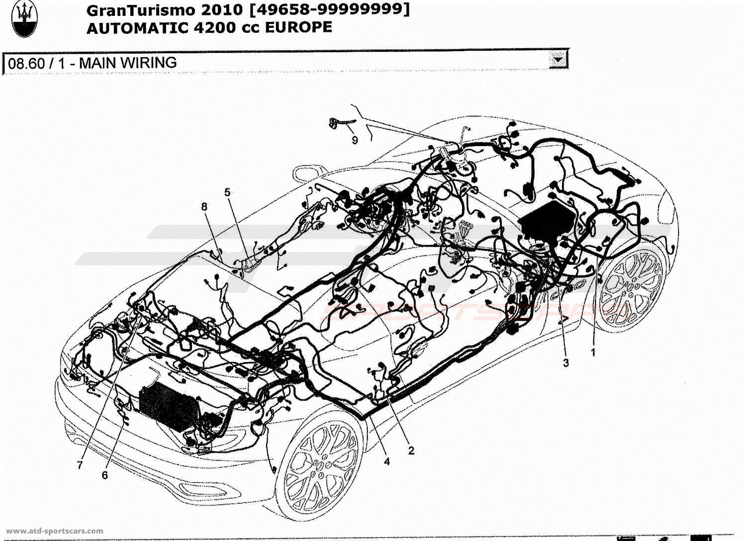 Maserati Ghibli Wiring Diagram Trusted Diagrams Spyder 2010 Granturismo Circuit And Corvette