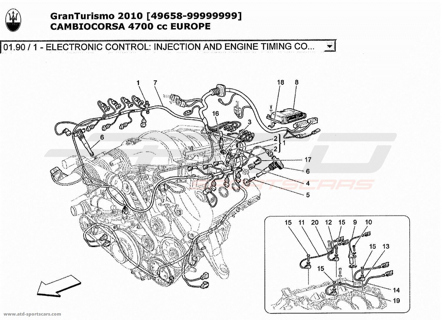 Maserati Ghibli Fuse Diagram as well Maserati Coupe Tail Lights Wiring Diagrams moreover Crank Sensor Location 68932 likewise How To Fix Short In A Wiring Whell Speed Sensor 2008 Volvo V50 in addition Maserati Quattroporte Parts Diagram Html. on 2005 maserati quattroporte wiring diagrams