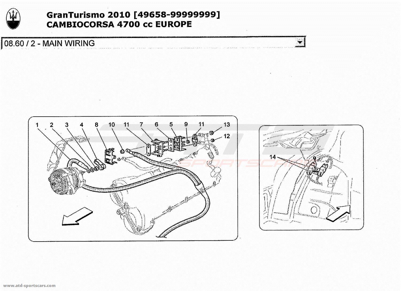 Wiring Diagram 2010 Maserati Granturismo Libraries Gransport Fuse Box New And Used Parts Simple Diagramsmaserati 47l Boite F1 Main
