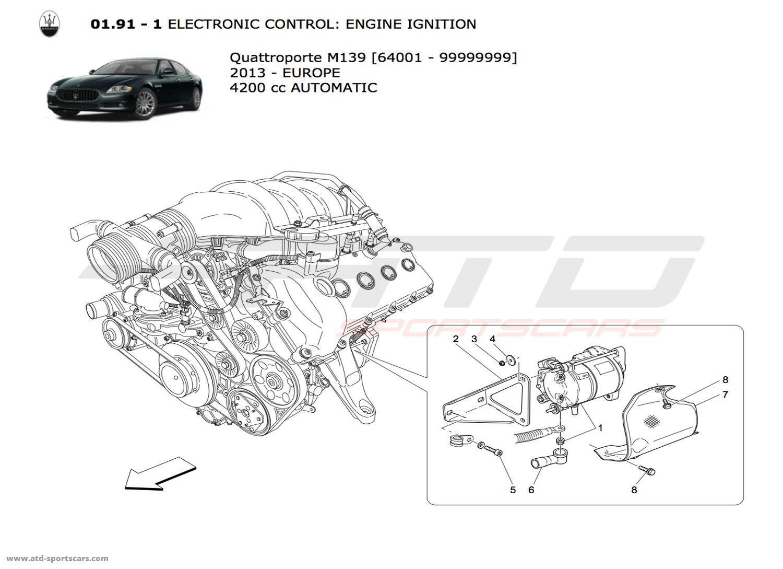 Maserati Quattroporte 4.2L Boite Auto 2013 ELECTRONIC ... on