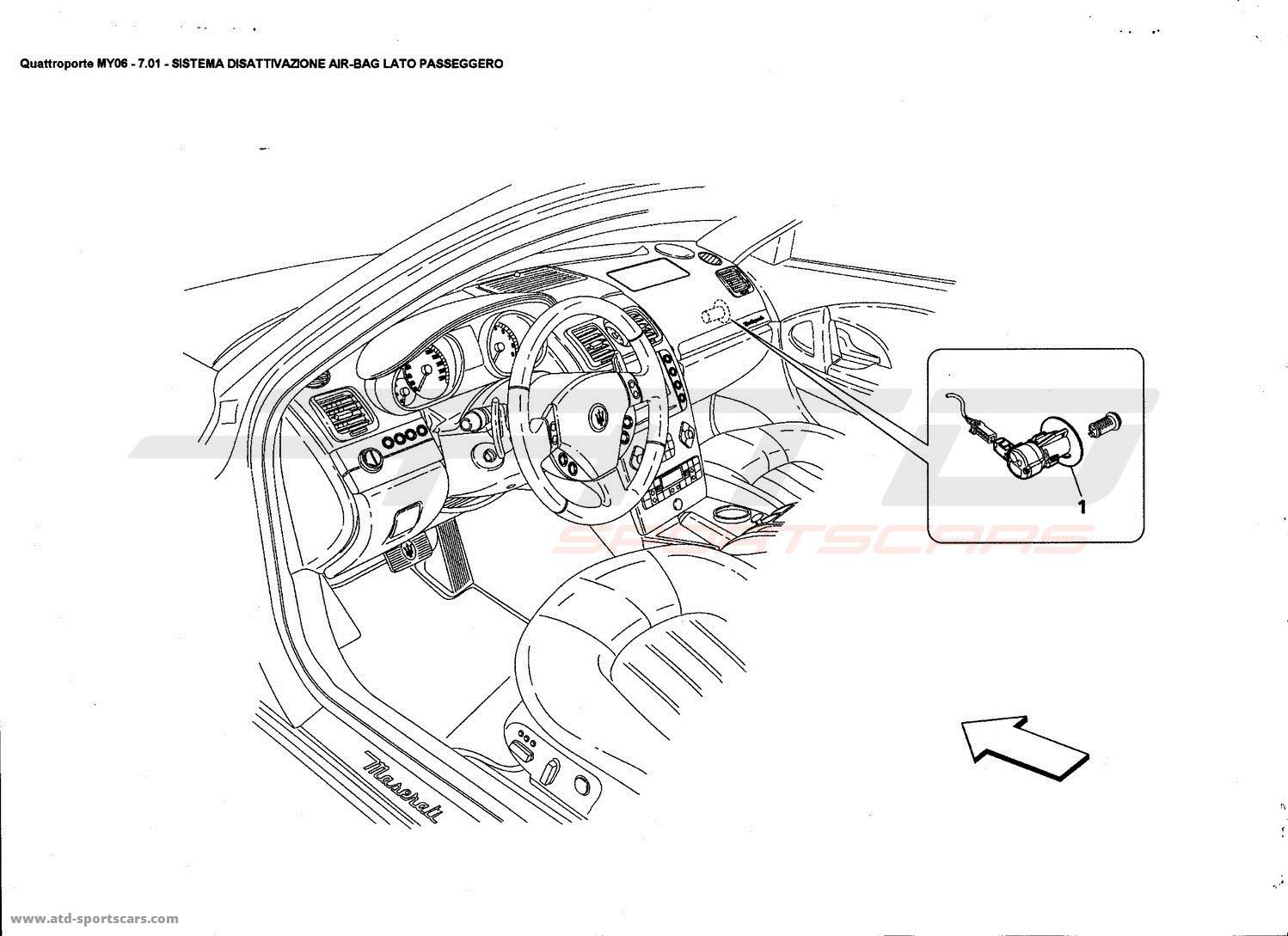 service manual  1989 maserati karif side airbag removal