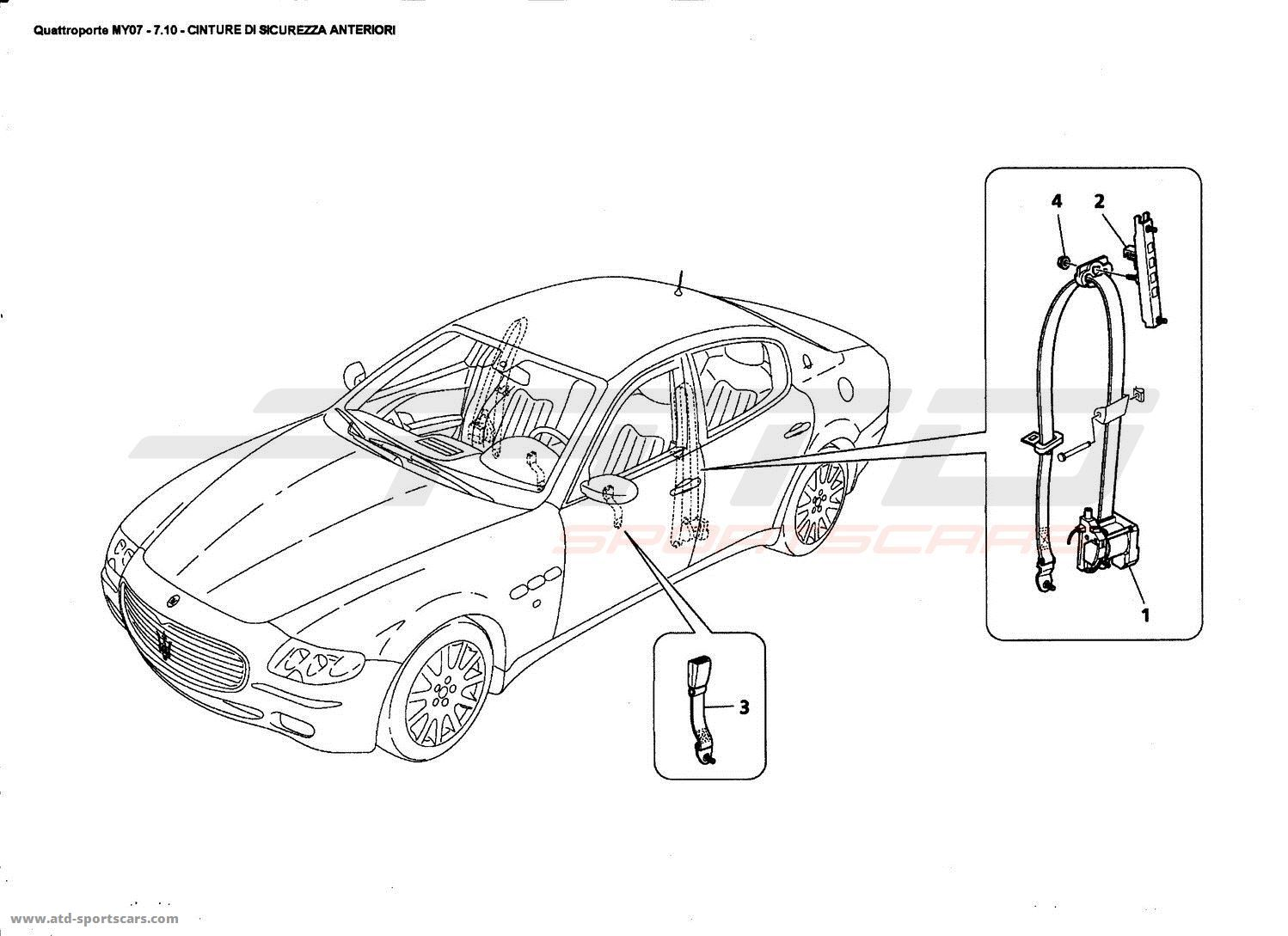 maserati quattroporte parts diagram  maserati  auto parts