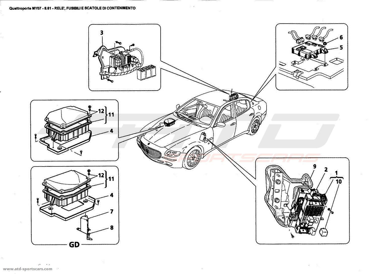 diagram of maserati quattroporte engine