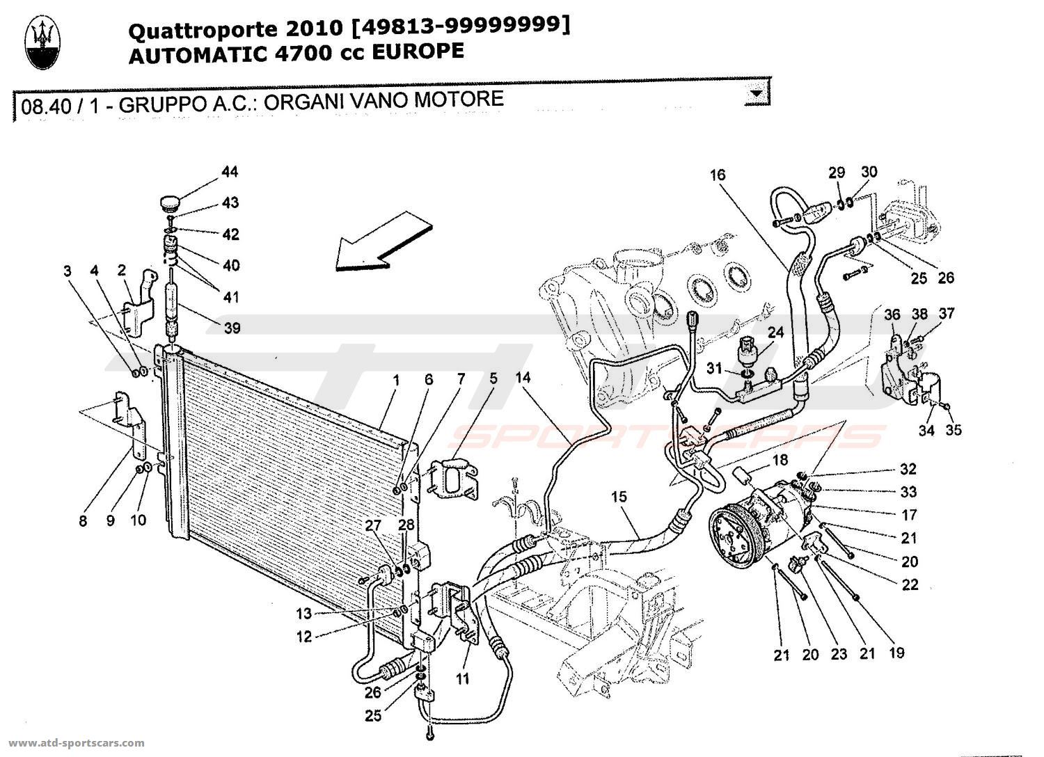 maserati quattroporte 4,7l boite auto 2010 a c unit engine Tesla Model S Engine Diagram maserati quattroporte 4,7l boite auto 2010 a c unit engine compartment devices