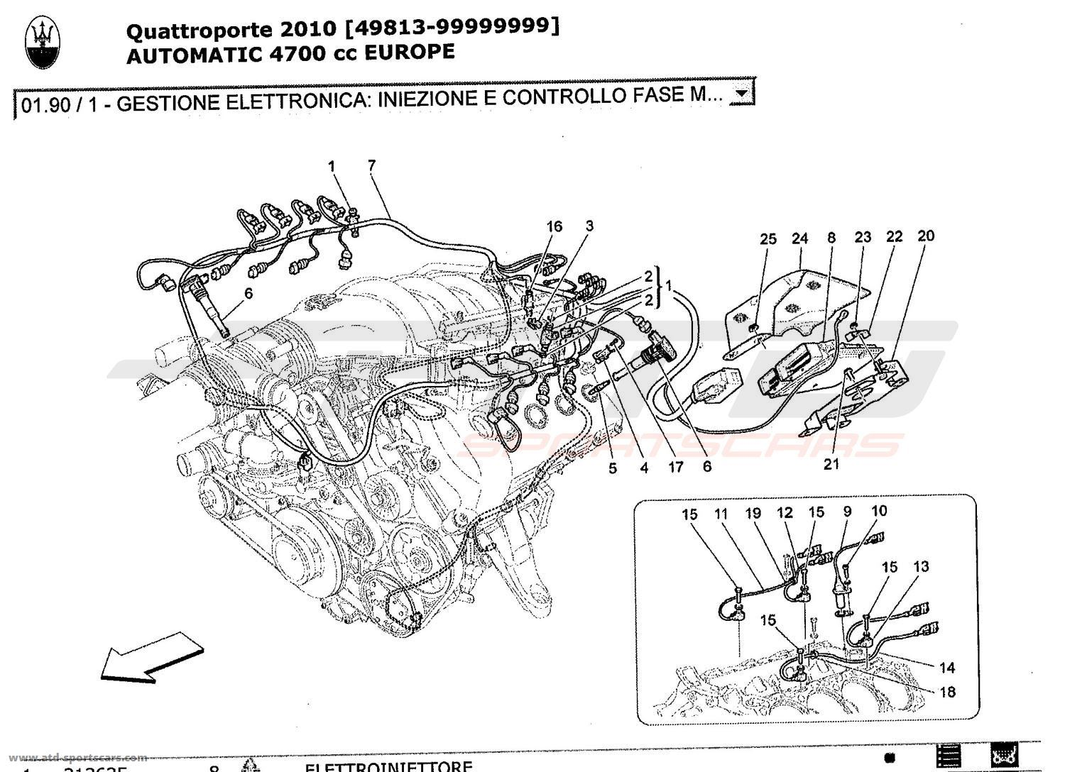 service manual  2010 maserati quattroporte how to replace