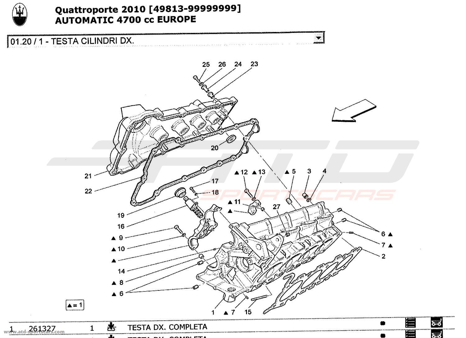service manual  cylinder head removal 1986 maserati